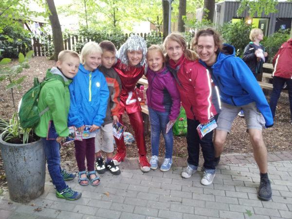 """Foto vom """"Kinder in Aktions""""-Ausflug im September 2016 zum Kindermusical """"Der kleine Tag"""""""