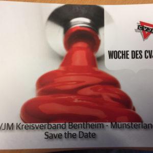 Woche des CVJM im Kreisverband Bentheim-Münsterland. Save the date!