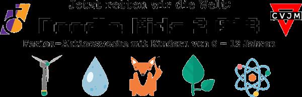 """""""Jetzt retten wir die Welt: Doodle Kids 2.018"""" – Ferien-Aktionswoche mit Kindern von 6 bis 12 Jahren"""
